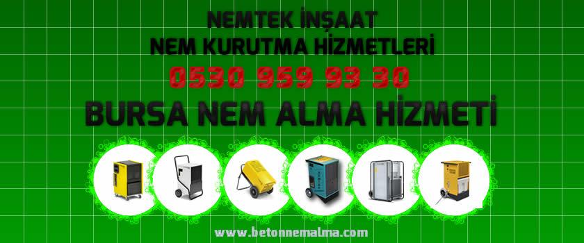 Bursa Nem Alma Hizmeti
