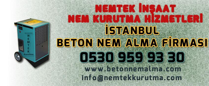İstanbul Beton Nem Alma Firması