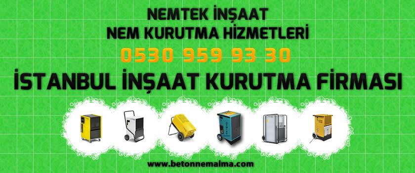 İstanbul İnşaat Kurutma Firması