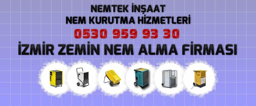 İzmir Zemin Nem Alma Firması