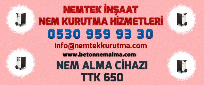 Nem Alma Cihazı TTK 650